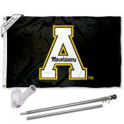 Appalachian State Mountaineers Flag Pole and Bracket Kit
