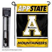 Appalachian State Mountaineers Garden Flag and Pole Stand Holder