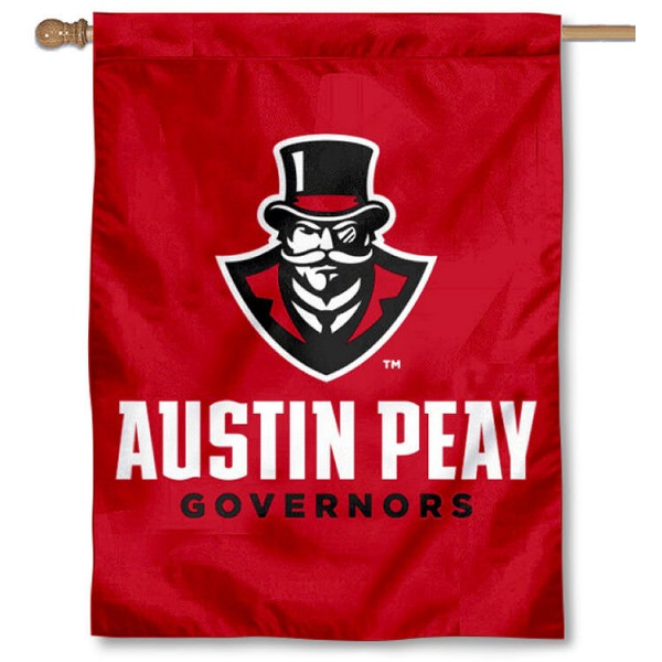 APSU Governors New Logo House Flag is a vertical house flag which measures 30x40 inches, is made of 2 ply 100% polyester, offers screen printed NCAA team insignias, and has a top pole sleeve to hang vertically. Our APSU Governors New Logo House Flag is officially licensed by the selected university and the NCAA.