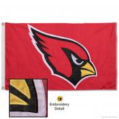 Arizona Cardinals Embroidered Nylon Flag