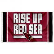 Arizona Cardinals Rise Up Red Sea Flag
