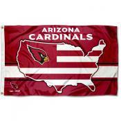 Arizona Cardinals USA Country Flag