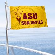 Arizona State Sun Devils Boat and Mini Flag