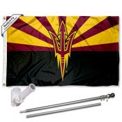Arizona State Sun Devils Flag Pole and Bracket Kit