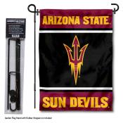 Arizona State Sun Devils Garden Flag and Pole Stand Holder