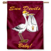 Arizona State Sun Devils New Baby Flag