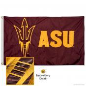 Arizona State Sun Devils Nylon Embroidered Flag