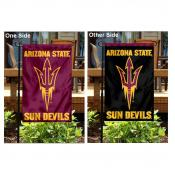 Arizona State University Pitchfork Logo Garden Flag
