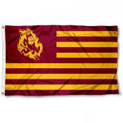 Arizona State University Striped Flag
