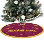 Arizona State University Sun Devils Christmas Tree Skirt