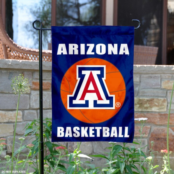 Arizona Wildcats Basketball Garden Banner is 13x18 inches in size, is made of 2-layer polyester, screen printed athletic logos and lettering. Available with Same Day Express Shipping, Our Arizona Wildcats Basketball Garden Banner is officially licensed and approved by the school and the NCAA.