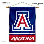 Arizona Wildcats Blue Wall Banner