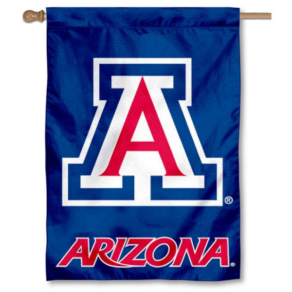 Arizona Wildcats Double Sided Banner is a vertical house flag which measures 28x40 inches, is made of 2 ply 100% nylon, offers screen printed NCAA team insignias, and has a top pole sleeve to hang vertically. Our Arizona Wildcats Double Sided Banner is officially licensed by the selected university and the NCAA.