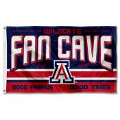 Arizona Wildcats Fan Man Cave Game Room Banner Flag
