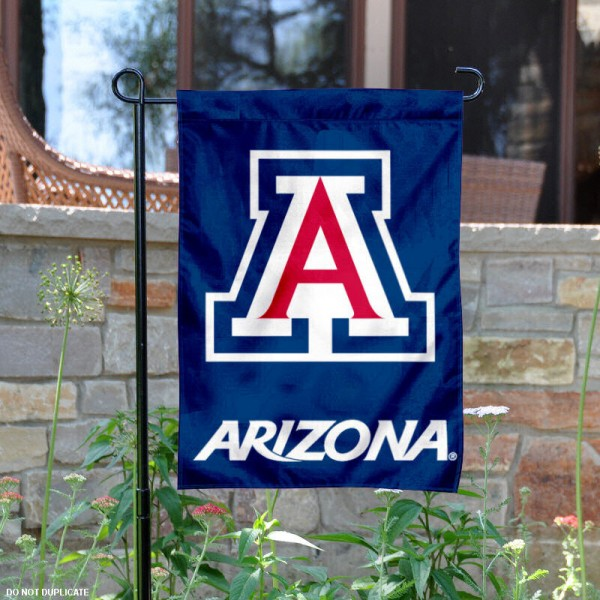 Arizona Wildcats Garden Flag is made of 100% nylon, measures 13x18 inches, and has screen printed NCAA School insignias and lettering. The Arizona Wildcats Garden Flag is approved by Arizona Wildcats and NCAA and university garden flags are great for your entranceway, garden, yard, mailbox, or window.
