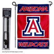 Arizona Wildcats Garden Flag and Stand