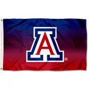 Arizona Wildcats Gradient Ombre Flag