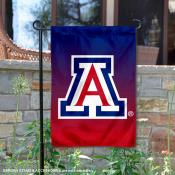 Arizona Wildcats Gradient Ombre Logo Garden Flag