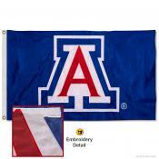 Arizona Wildcats Nylon Embroidered Flag
