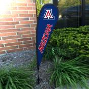 Arizona Wildcats Small Feather Flag