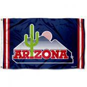 Arizona Wildcats Throwback Vault Logo Flag