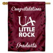 Arkansas Little Rock Trojans Congratulations Graduate Flag