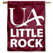 Arkansas Little Rock Trojans Double Sided House Flag