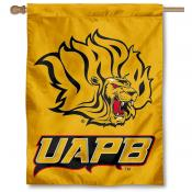 Arkansas Pine Bluff Golden Lions Banner Flag