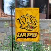 Arkansas Pine Bluff Golden Lions Logo Garden Flag