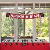 Arkansas Razorbacks Banner String Pennant Flags