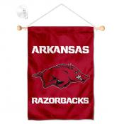 Arkansas Razorbacks Banner with Suction Cup