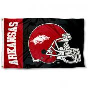 Arkansas Razorbacks College Football Flag