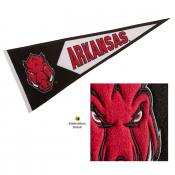Arkansas Razorbacks Genuine Wool Pennant