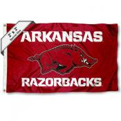 Arkansas Razorbacks Small 2'x3' Flag