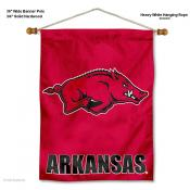 Arkansas Razorbacks Wall Banner