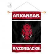 Arkansas Razorbacks Window and Wall Banner