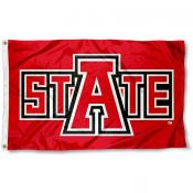 Arkansas State ASU Redwolves Flag