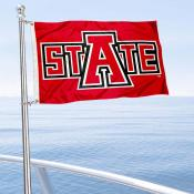 Arkansas State Red Wolves Boat and Mini Flag