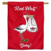 Arkansas State Red Wolves New Baby Flag