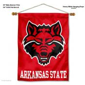 Arkansas State Red Wolves Wall Banner
