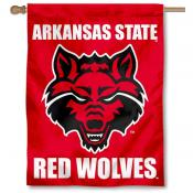 Arkansas State University Banner Flag