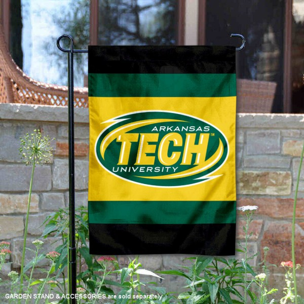 Arkansas Tech Wonder Boys Garden Flag is 13x18 inches in size, is made of 2-layer polyester, screen printed university athletic logos and lettering, and is readable and viewable correctly on both sides. Available same day shipping, our Arkansas Tech Wonder Boys Garden Flag is officially licensed and approved by the university and the NCAA.