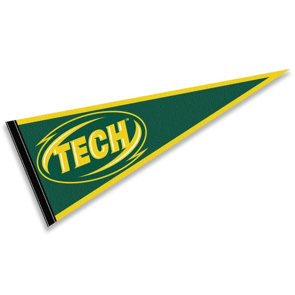 Arkansas Tech Wonder Boys Pennant consists of our full size sports pennant which measures 12x30 inches, is constructed of felt, is single sided imprinted, and offers a pennant sleeve for insertion of a pennant stick, if desired. This Arkansas Tech Wonder Boys Pennant Decorations is Officially Licensed by the selected university and the NCAA.