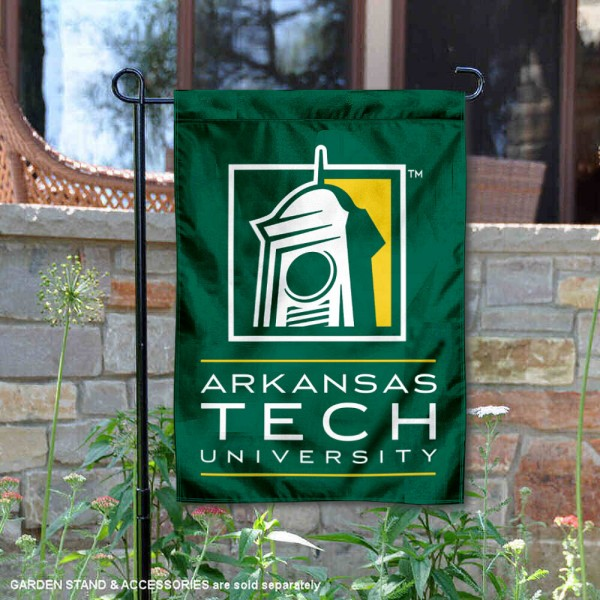 Arkansas Tech Wonder Boys Wordmark Logo Garden Flag is 13x18 inches in size, is made of 2-layer polyester, screen printed university athletic logos and lettering, and is readable and viewable correctly on both sides. Available same day shipping, our Arkansas Tech Wonder Boys Wordmark Logo Garden Flag is officially licensed and approved by the university and the NCAA.