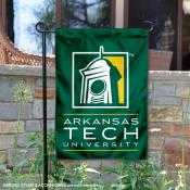 Arkansas Tech Wonder Boys Wordmark Logo Garden Flag