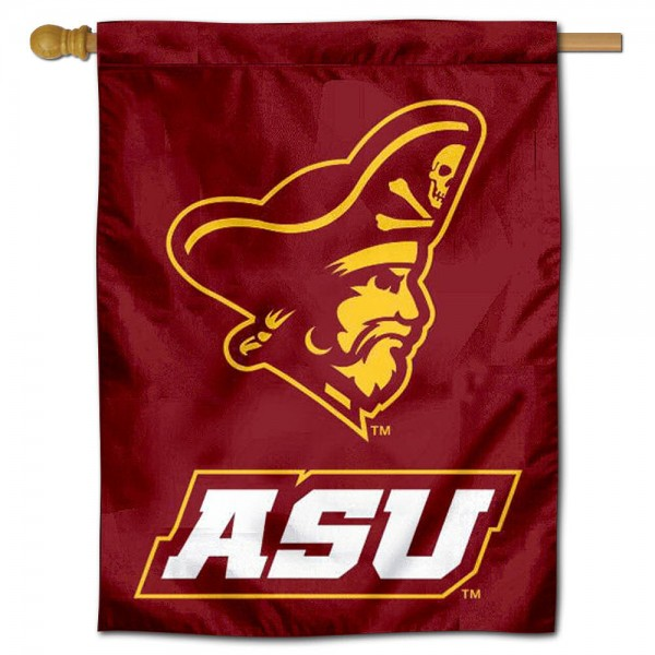 Armstrong Pirates Banner Flag is a vertical house flag which measures 30x40 inches, is made of 2 ply 100% polyester, offers screen printed NCAA team insignias, and has a top pole sleeve to hang vertically. Our Armstrong Pirates Banner Flag is officially licensed by the selected university and the NCAA.