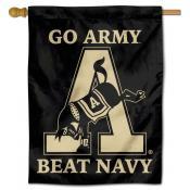 Army Beat Navy Logo Double Sided House Flag