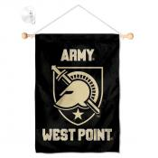 Army Black Knights Banner with Suction Cup