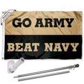 Army Black Knights Beat Navy Flag Pole and Bracket Kit