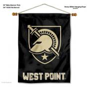 Army Black Knights Wall Banner